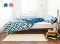 Mosaic posteljina plava